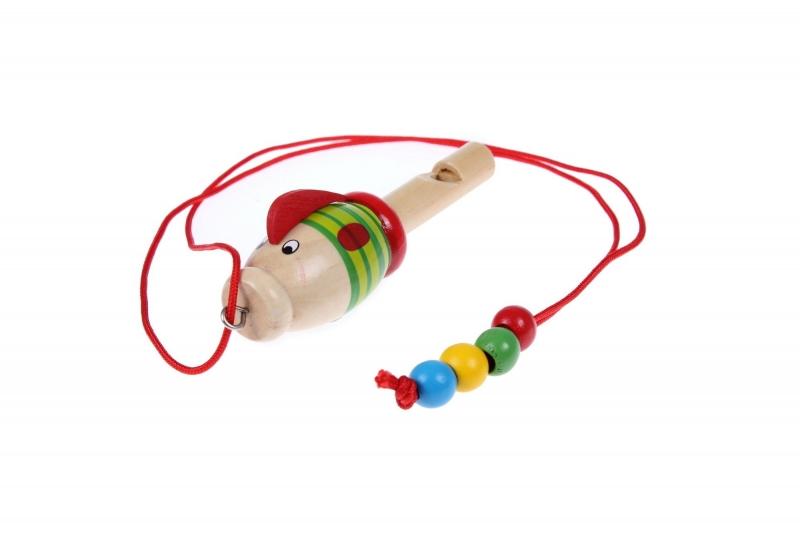 Свисток деревянный на шнурке «РЫБКА» BRADEX DE 0512