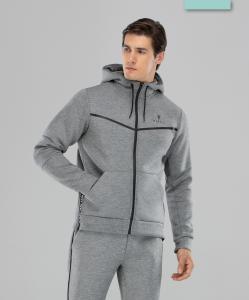 Мужская спортивная толстовка Balance FA-MJ-0103, серый, FIFTY