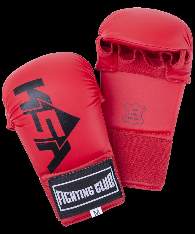 Накладки для карате Slam Red, к/з, KSA