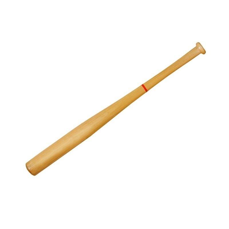 """Бита для бейсбола деревянная 28"""" без намотки"""