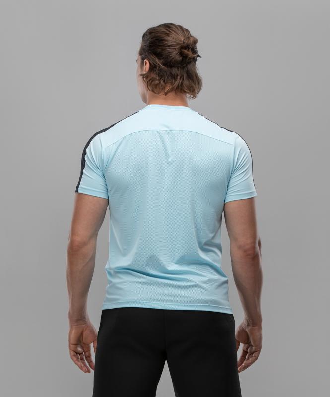 Мужская спортивная футболка Intense PRO FA-MT-0102, голубой, FIFTY