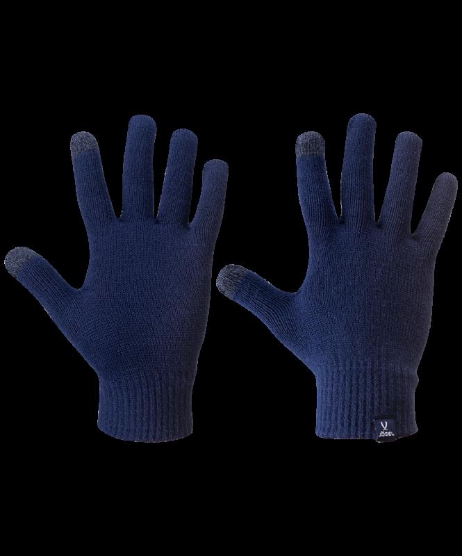 Перчатки зимние ESSENTIAL Touch Gloves, темно-синий, Jögel