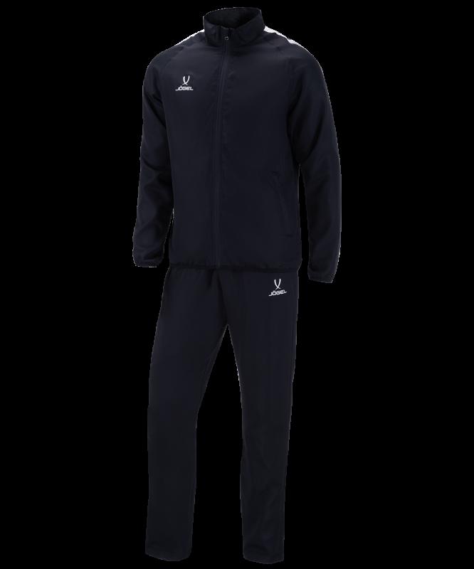 Костюм спортивный детский CAMP Lined Suit, черный/черный, Jögel