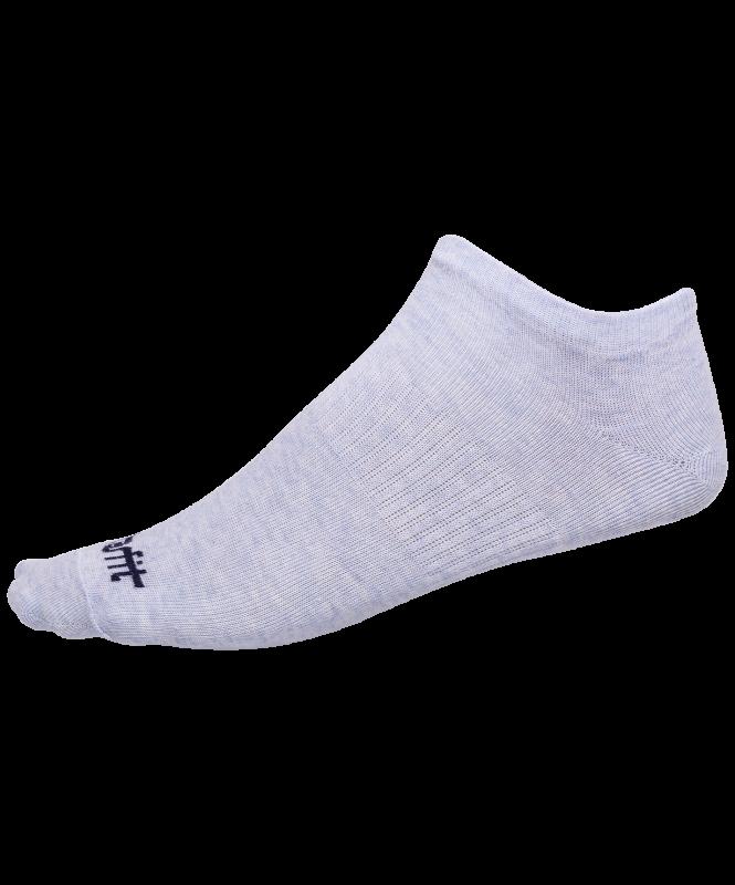 Носки низкие SW-205, голубой меланж/светло-серый меланж, 2 пары, Starfit