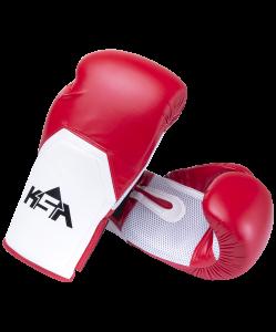 Перчатки боксерские Scorpio Red, к/з, 10 oz, KSA
