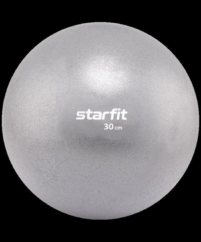 Мяч для пилатеса GB-902, 30 см, серый, Starfit