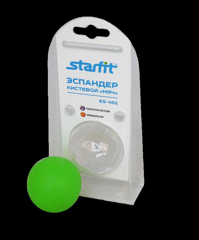 Эспандер кистевой ES-401 Мяч, зеленый, Starfit