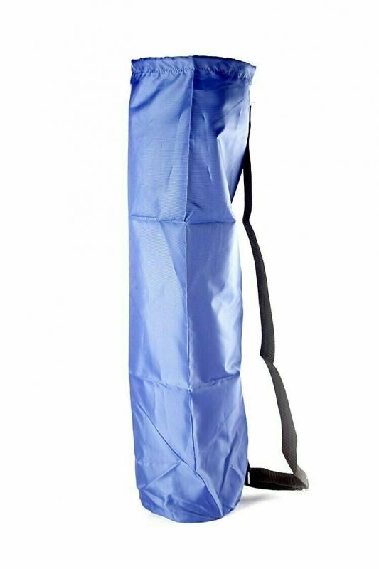 Чехол для коврика Симпл без кармана RamaYoga синий, 60 см, диам. 16 см, 0.1 кг