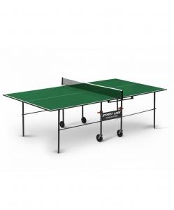 Стол для настольного тенниса Olympic Optima Green с сеткой, Start Line