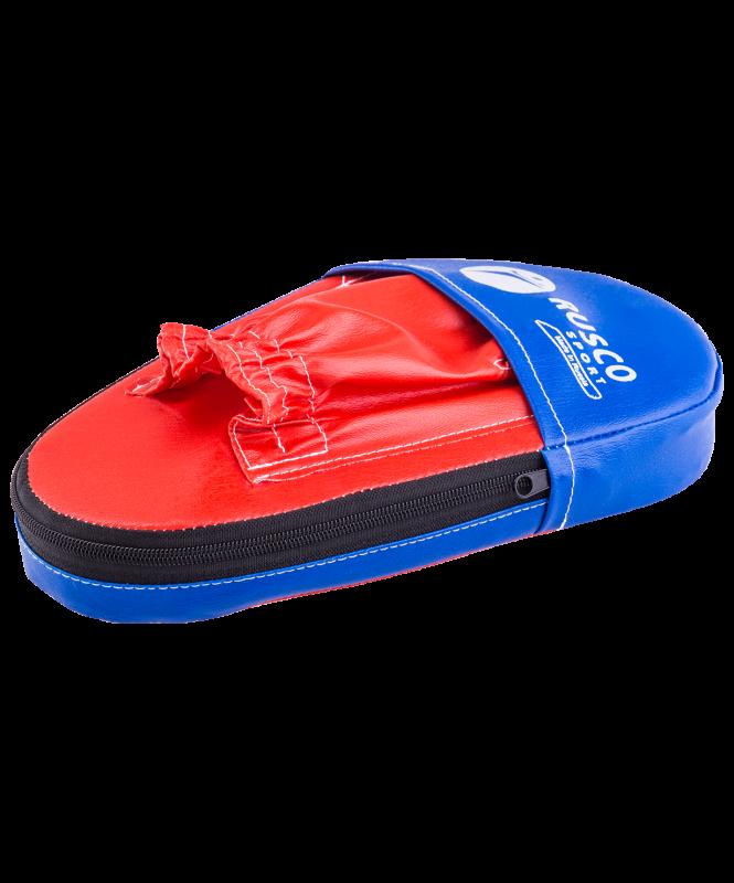Лапы прямые, к/з, красный/синий, 34х20х20 см, пара, Rusco