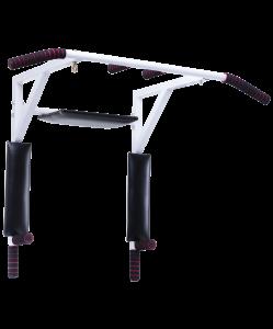 Турник-брусья настенный 3 В 1 Stanley, разборный d=28 мм, ширина 115 см, вынос 56 см, Starfit