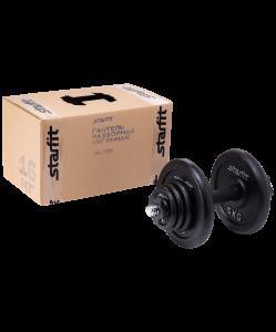 Гантель разборная чугунная в коробке DB-713, 16 кг, Starfit
