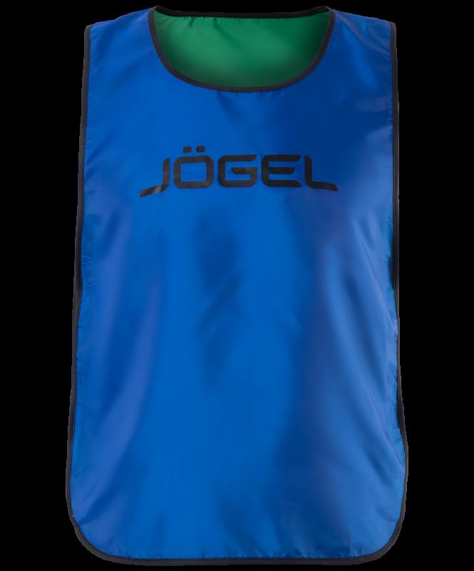 Манишка двухсторонняя Jögel Reversible Bib, синий/зеленый