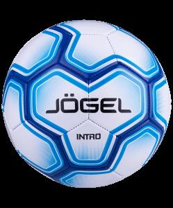 Мяч футбольный Intro №5, белый, Jögel