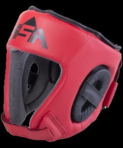 Шлем открытый Champ Red, M, KSA