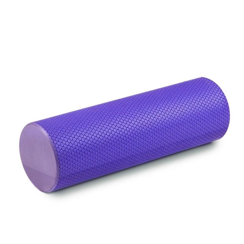 Цилиндр для пилатес MAKFIT фиолетовый 45 см
