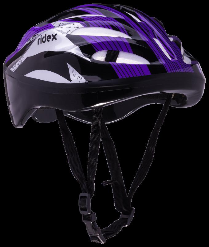 Шлем защитный Cyclone, фиолетовый/черный, RIDEX