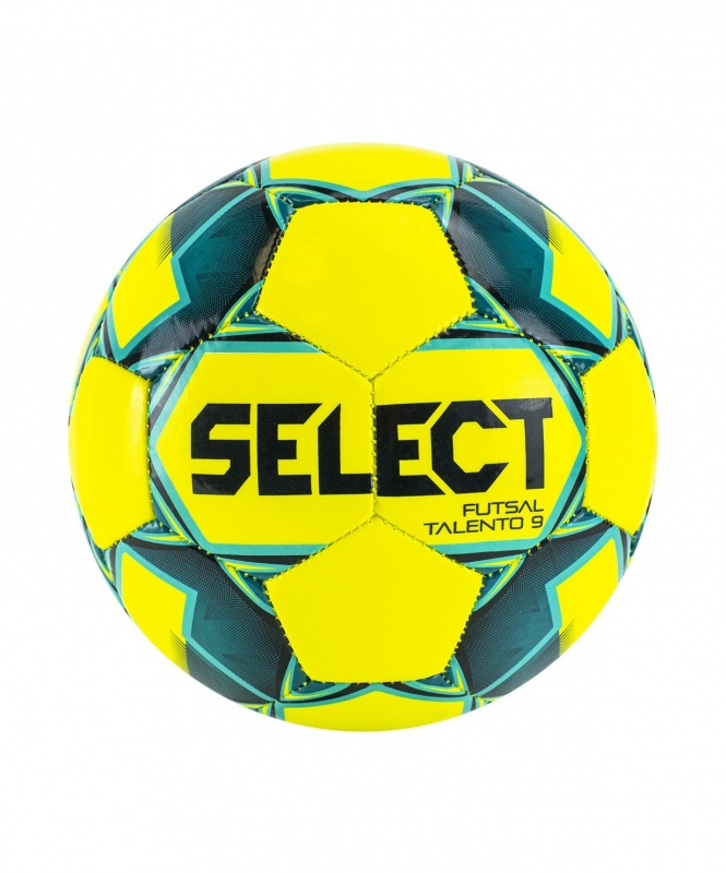 Мяч футзальный Futsal Talento 9 №2, жел/зел/голуб, Select