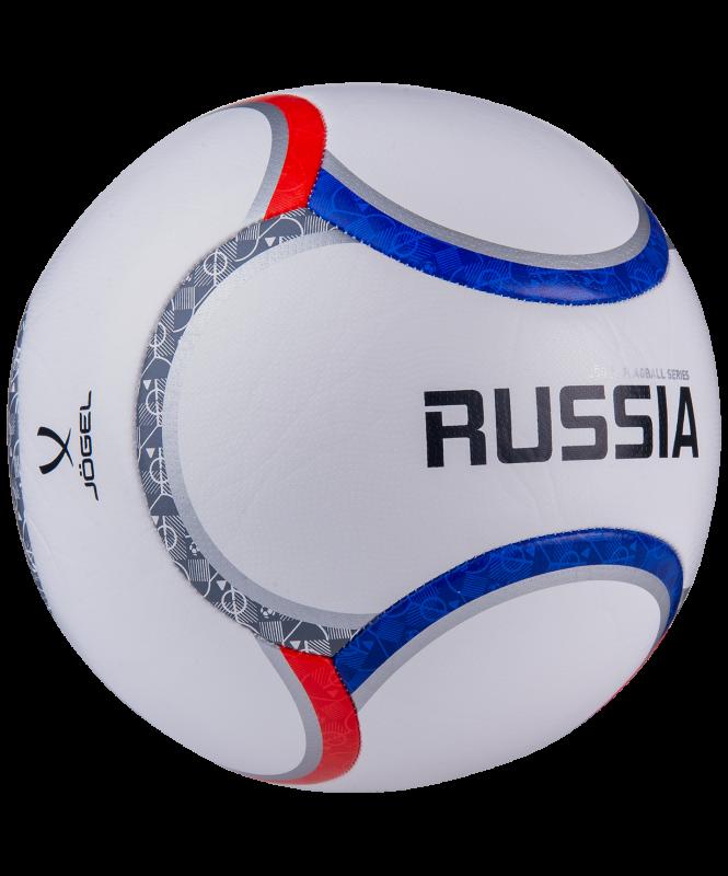 Мяч футбольный Flagball Russia №5, Jögel
