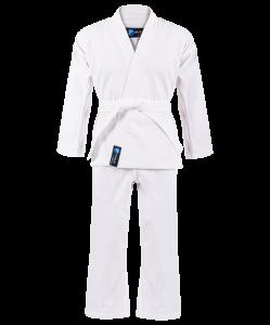 Кимоно для карате для начинающих, белый, р.0/130, Rusco