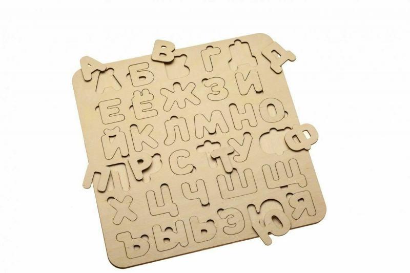 Деревянная рамка-вкладыш «АЗБУКА» BRADEX DE 0420