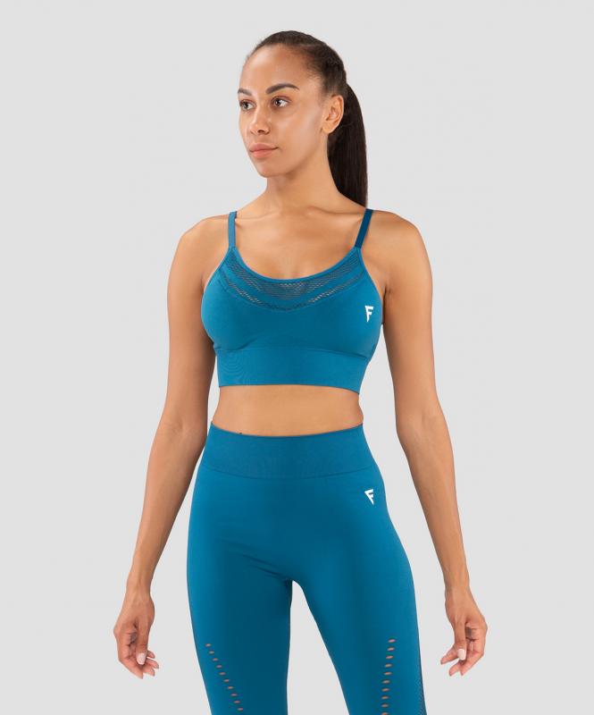 Женский бра-топ Essential Knit blue FA-WB-0202-BLU, синий, FIFTY