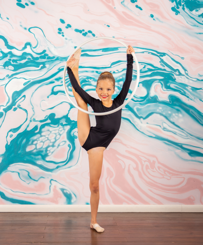 Обруч для художественной гимнастики Virole, 60 см, Chanté