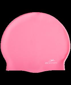 Шапочка для плавания Nuance Pink, силикон, 25Degrees