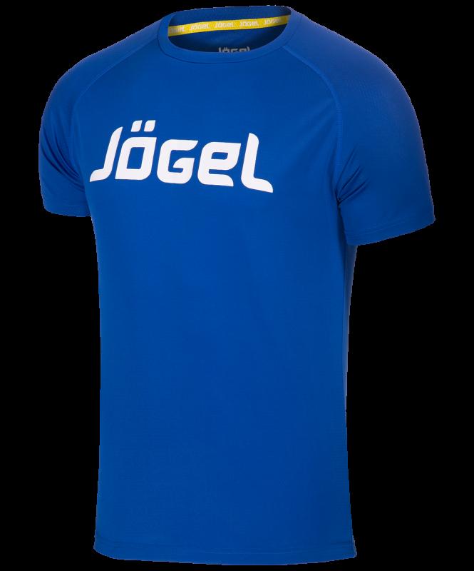 Футболка тренировочная JTT-1041-079, полиэстер, синий/белый, детская, Jögel