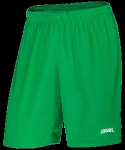 Шорты баскетбольные JBS-1120-031, зеленый/белый, Jögel