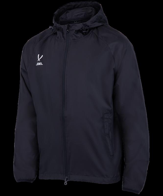 Куртка ветрозащитная CAMP Rain Jacket, черный, Jögel