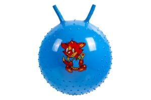 Детский массажный гимнастический мяч, синий BRADEX DE 0540