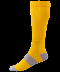 Гетры футбольные Essential JA-006, желтый/серый, Jögel