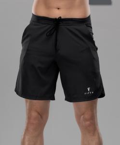 Мужские спортивные текстильные шорты Intense PRO FA-MS-0102, черный, FIFTY