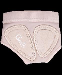 Защита стопы Footie Nude, нейлон, Chanté