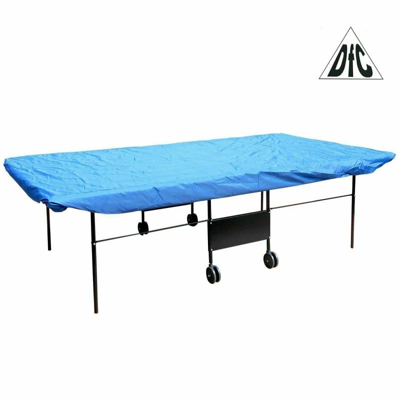 Чехол для теннисного стола, п/э, синий, универс.