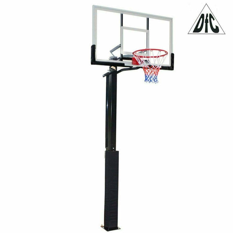Баскетбольная стационарная стойка DFC ING50A 127x80cm акрил (три короба)