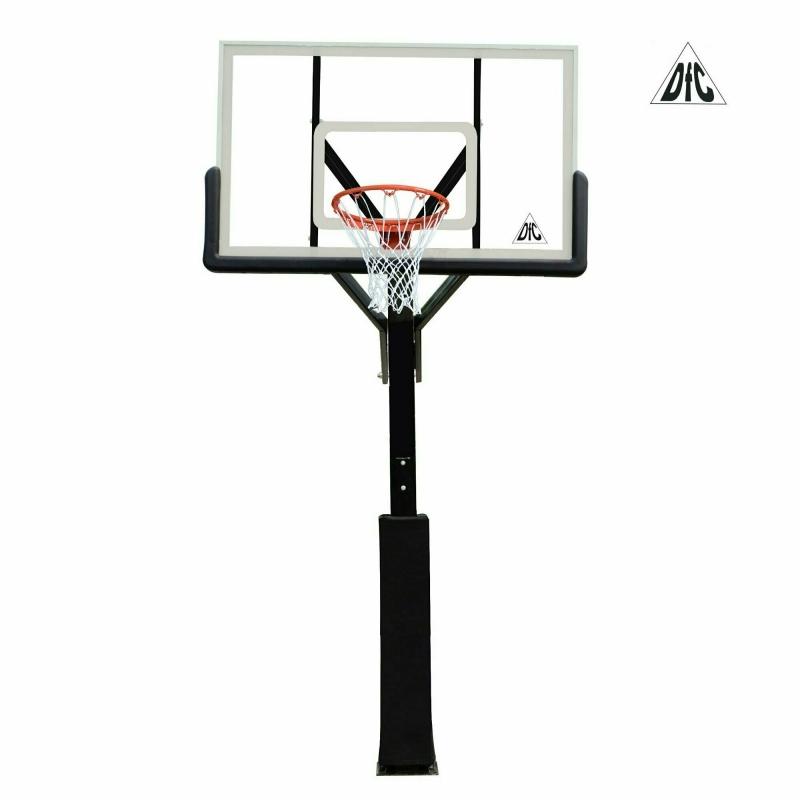 Баскетбольная стационарная стойка DFC ING60A 152x90cm акрил (четыре короба)
