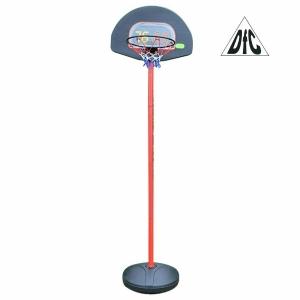 Мобильная баскетбольная стойка DFC KIDS1 60x40cm полиэтилен, мяч/насос