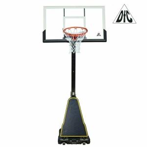Баскетбольная мобильная стойка DFC STAND60P 152x90cm поликарбонат (два короба)