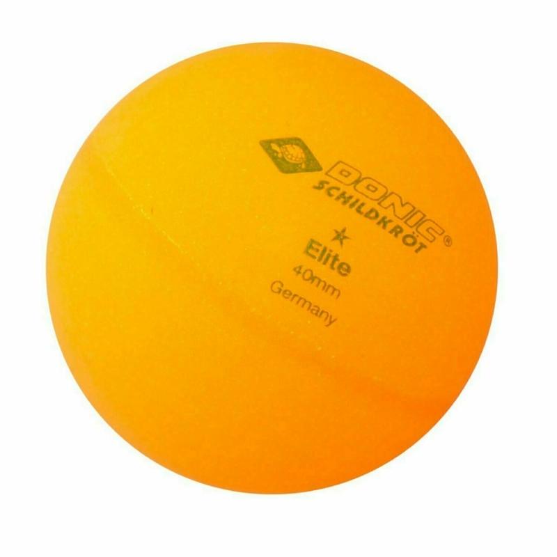 Мячики для н/тенниса DONIC ELITE 1, 6 штук, оранжевый