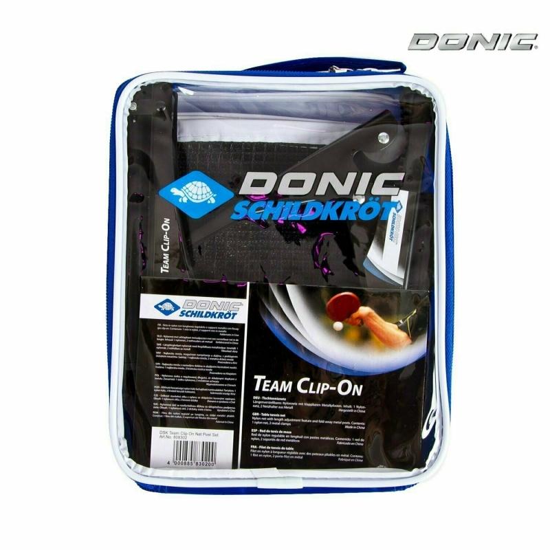 Сетка н/т DONIC TEAM CLIP-ON в комплекте