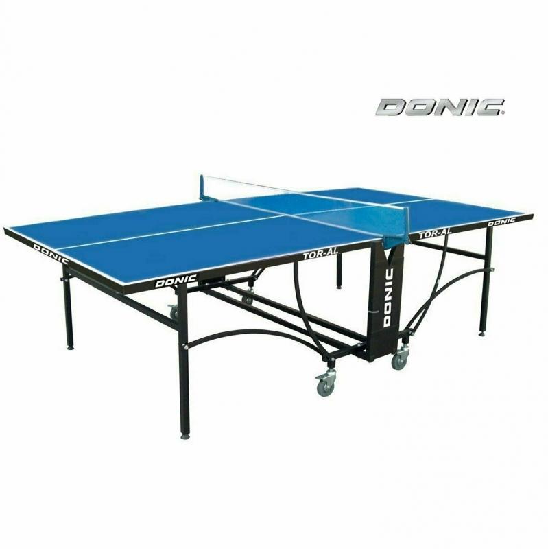 Теннисный стол DONIC Tornado-AL-Outdoor, 4 мм, синий (три коробки)