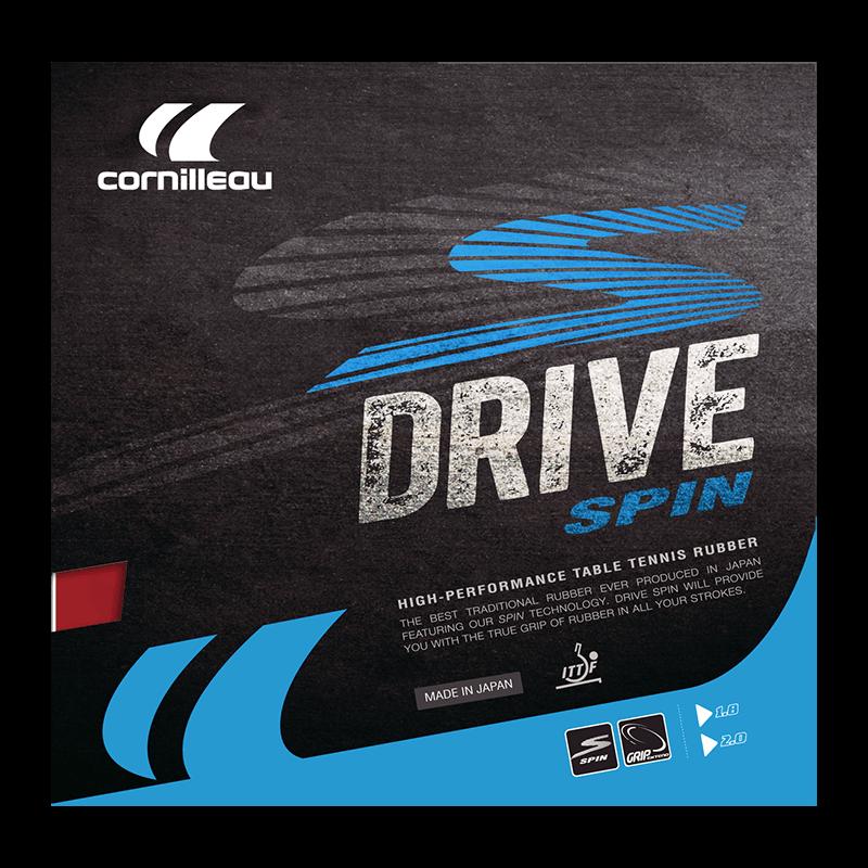 Накладка на ракетку для настольного тенниса Cornillleau DRIVE SPIN 2мм Красная