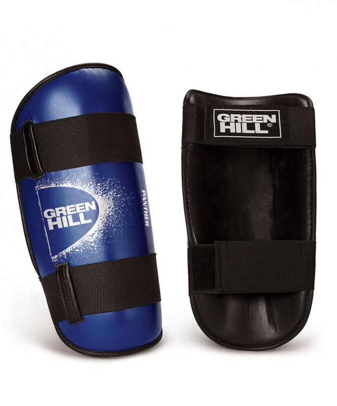 Защита голени PANTHER SPP-2124, к/з, синий, Green Hill