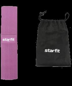 Мини-эспандер ES-204 тканевый, низкая нагрузка, фиолетовый, Starfit