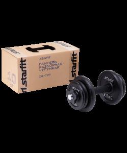 Гантель разборная чугунная в коробке DB-713,10 кг, Starfit