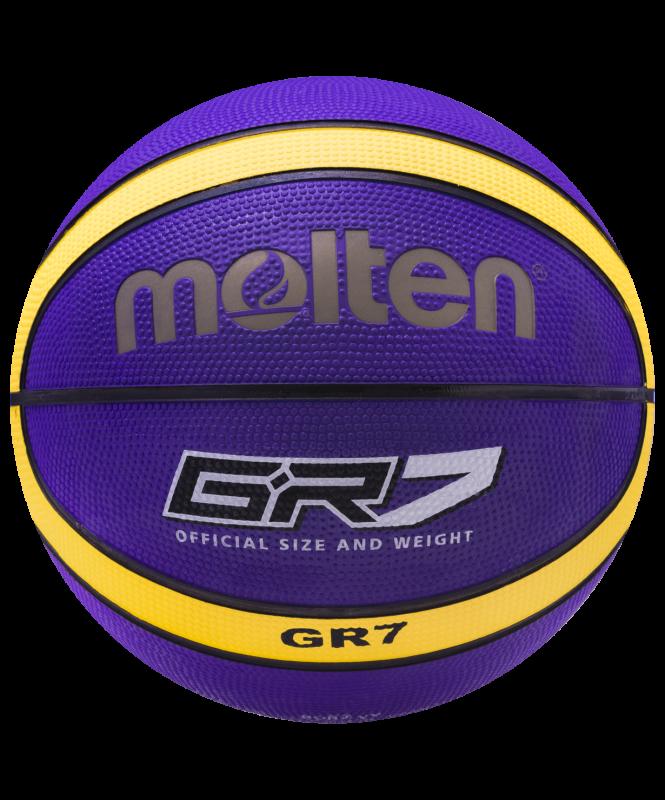 Мяч баскетбольный BGR7-VY №7, Molten