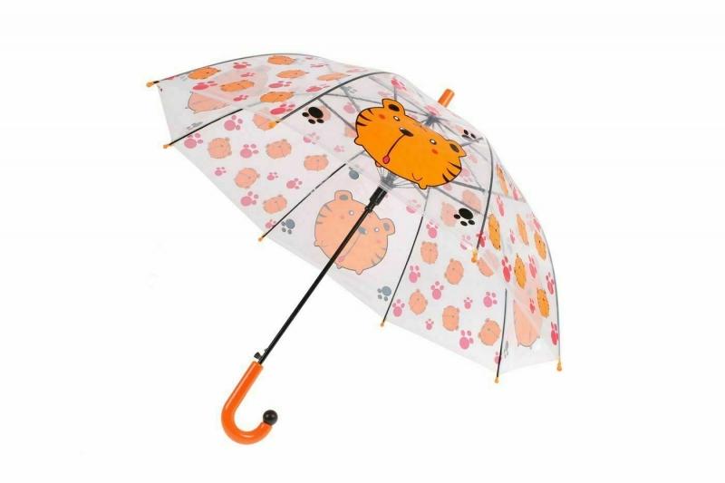 Зонт прозрачный «ТИГР» BRADEX DE 0503