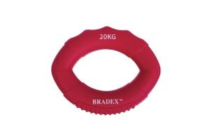 Кистевой эспандер 20 кг, овальной формы, розовый BRADEX SF 0573